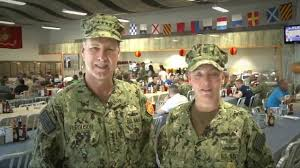 commander u s naval forces europe africa thanksgiving day