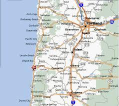 map of oregon us oregon coast vacation rental suite dreams cottage
