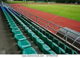 Stadium Bench Audience Bench Stock Images Royalty Free Images U0026 Vectors