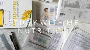 study with me nutrition vlog 2 distance learning how