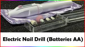 electric nail drill mobile unboxing how to use youtube