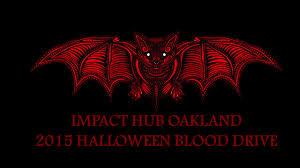 alltypesneeded halloween blood drive oakland