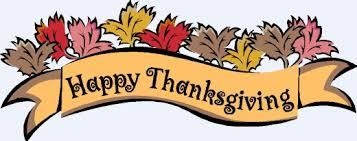 happy thanksgiving banner clip happy thanksgiving banner