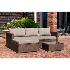 Patio Sectional Outdoor Patio Sectional Sofas U0026 Loveseats Wayfair