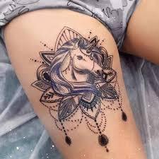 25 badass thigh tattoo ideas for women mandala thigh tattoo