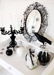 Pinterest Halloween Decorations Black And White Halloween Decor Halloween Decorations 2016