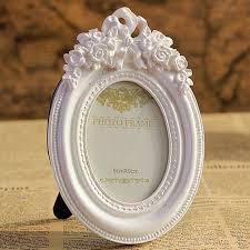 Schreibtisch F B O Amazon De Giftgarden 6x9 Bilderrahmen Oval Weiß Dekorahmen