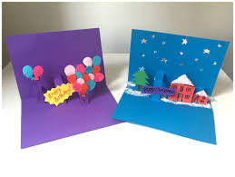 pop up birthday cards for birthday card procedures to create