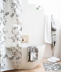 bathroom shower curtain ideas designs bathroom floral pattern silk shower curtain oval cast iron