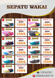 Sepatu Wakai Harganya sepatu wakai indonesia grade original jual sepatu wakai