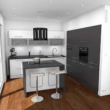 implantation cuisine ouverte 50 gracieux cuisine ouverte avec ilot style tendance cuisine et