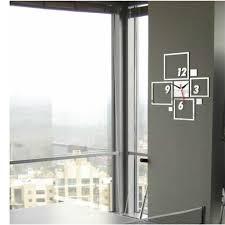 new modern decoration acyrlic mirror office wall clock sticker new modern decoration acyrlic mirror office wall clock