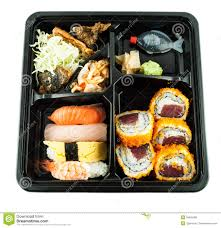 box de cuisine japanese meal in a box or lunch box stock image image of dinner