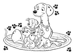 225 101 dalmations coloring pages images