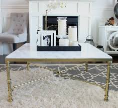 modern white square coffee table coffee table fascinating faux marble coffee table ideas faux