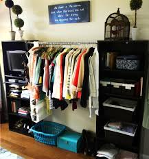 storage ideas for house with no closets