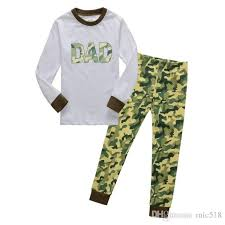 sleepwear cotton boys pyjamas clothing pink green camo
