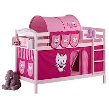 Knuth White Hello Kitty Bunk Bed Next Day Select Day Delivery - Hello kitty bunk beds