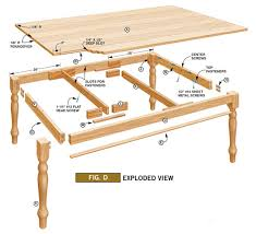 Table Top Fasteners by Diy Farm Table Plans How To Build Your Own Farm Table