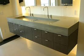 Double Trough Sink Bathroom Attractive Double Faucet Bathroom Sink And Bathroom Brown Double