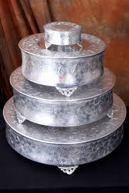 cake plateau embossed 14 inch wedding cake plateau walmart