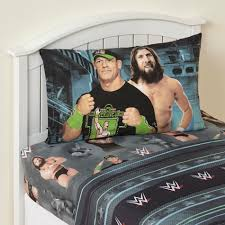 Bedroom Set Kmart Wwe 3 Piece Sheet Set Superstars