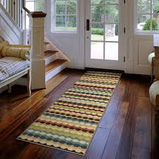 Striped Kitchen Rug Runner Orian Nik Nak Woven Olefin Runner Rug Ivory 1 10 X