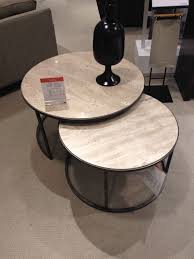 round nesting coffee table monterey round nesting coffee table seating areas really want dark