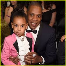 Beyonce And Jay Z Meme - blue ivy channels prince at grammy 2017 with dad jay z 2017