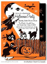 16 best kid friendly non scary halloween invitations images on