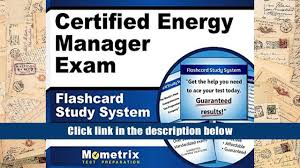 free download certified energy manager exam flashcard study