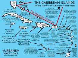 A Map Of The Caribbean by The Caribbean A Traveler U0027s Cultural Guide Map U2013 Urbane Map Store