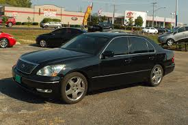 lexus car 2006 2006 lexus ls430 black sedan used car sale