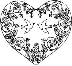 coloriage coeur les beaux dessins de autres à imprimer et colorier