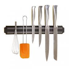 barre magn騁ique cuisine barre magnétique porte couteaux 38 cm