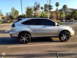 chrome lexus rims what rim size looks best for rx clublexus lexus forum discussion