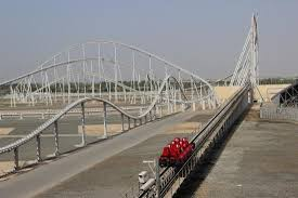 in abu dhabi roller coaster s fastest roller coaster formula rossa picture of