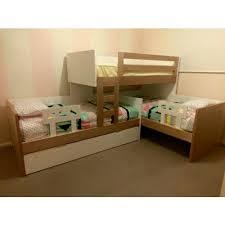 Buy Triple L Shape Bunk Online In Australia Find Best Bunk Beds - L shaped bunk bed