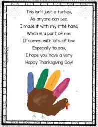 turkey handprint poem for thanksgiving thanksgiving poems poem