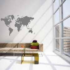World Map Wall Sticker by Image Of Vinyl Wall Sticker Decal Art World Map Wall Decal World