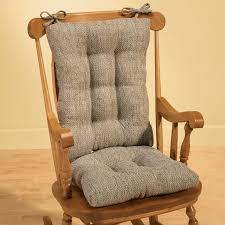 rocking chair cushion set outdoor rocking chair cushions tyson