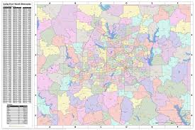 map of dallas fort worth search the maptechnica printable map catalog maptechnica