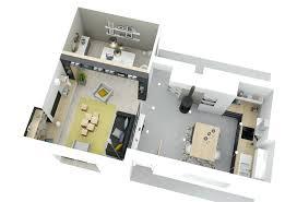 cuisine ouverte surface surface d une maison amenagement maison surface cuisine