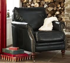 Leather Club Armchair The Bilson Leather Club Armchair