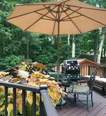 greensboro nc custom azek deck with chocolate brown rails jpg