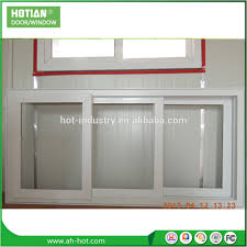 china pvc windows small pvc sliding basement window sliding