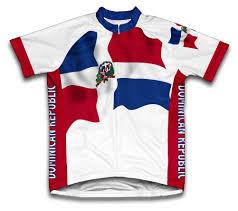 Dominican Republic Flag Amazon Com Dominican Republic Flag Short Sleeve Cycling Jersey