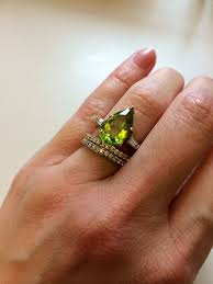 peridot engagement rings 5 real girl engagement rings with more than my front steps