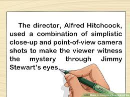 When I Consider How My Light Is Spent Analysis How To Analyze A Scene In A Film With Pictures Wikihow