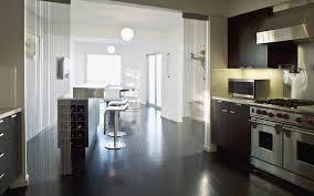 modern kitchens sydney modern kitchen divided into lighter and darker volumetric areas
